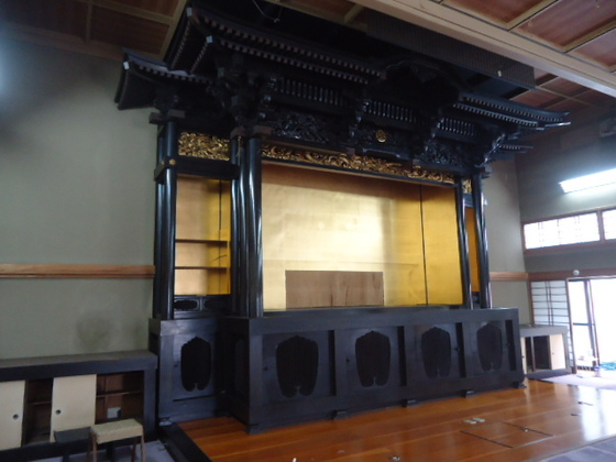 ムエン工房の寺院の御宮殿扉